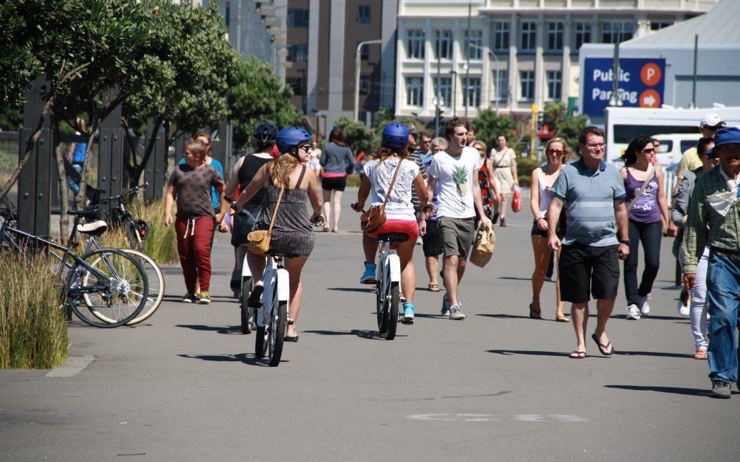 """Ruimte voor """"fietser en voetgangers""""?"""